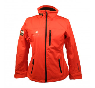 Red sailing jacket