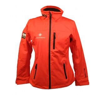 Women's red sailing jacket