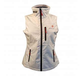 White sleeveless jacket Helly Hansen