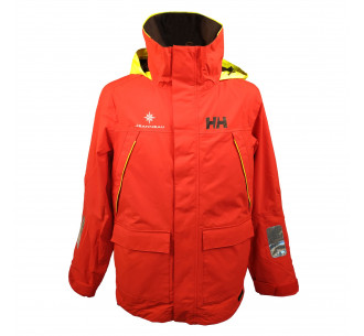 Red sailing jacket Helly...