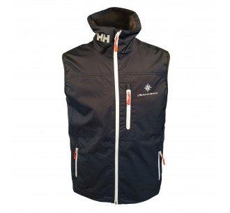 Sleveless jacket navy blue