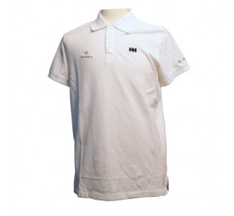 Polo blanc transat Helly...